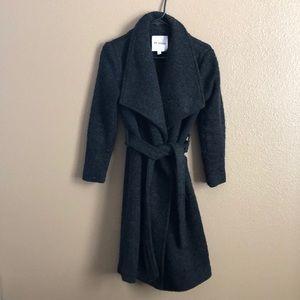 BB Dakota wrap Belted sweater Coat